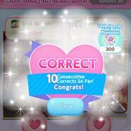 (Snap Contest) 10 Consecutive Corrects