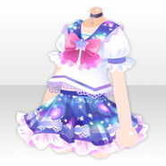 (Tops) Galaxy Girl Sailor Uniform ver.A purple