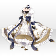 (Tops) Löwe Princess Formal Dress ver.A white