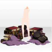 (Body Accessories) Books to Track Trajectory of Stars ver.A purple