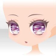 (Face) Happy Makeup Girls Pompous Face ver.A purple