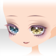(Face) Hollow Park Diamond Odd Eye Face ver.A yellow