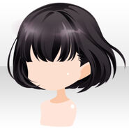 (Hairstyle) La Clarte Mystic Lady Bob Hair ver.A black