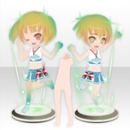 (Avatar Decor) Cosmic Cheer Dancer ver.A green