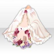 (Outerwear) Oblivious Flower Classical Wreath ver.A white