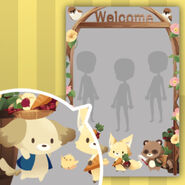 (Show Items) Welcome to Pleasant Farm Decor1 Brown ver.1