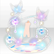 (Avatar Decor) Fairy World with Butterflies and Light ver.A white