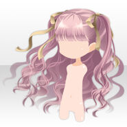 (Hairstyle) La Clarte Little Girl Wavy Hair ver.A pink