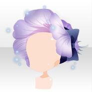 (Head Accessories) Bloom Bonnet ver.A purple