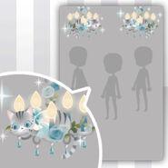 (Show Items) Tea Cat & Chandelier Decor 2 ver.1