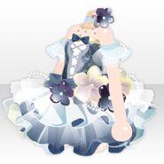 (Tops) Elegant Perfume One-Piece ver.A blue