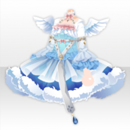 (Tops) Fallen Feather Water Angel Apprentice Dress ver.A blue