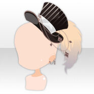 (Head Accessories) Circus Master Hat ver.A black