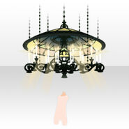 (Body Accessories) Prayer Stained Glass Lamp ver.A green