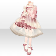 (Tops) Fontana Guide Girl Style ver.A pink
