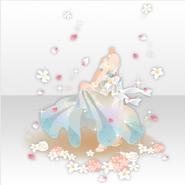 (Tops) Hawaiian Secret Resort Wedding Dress ver.A blue