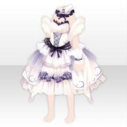 (Tops) Halloween Angel Dress ver.A white