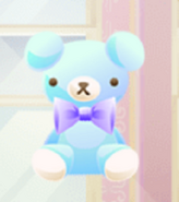 (Characters) Dolls Tea Party - Blue Teddy Bear