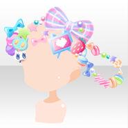 (Head Accessories) CocoPPa Dolls Princess Meryl Hair Accessories ver.A pink