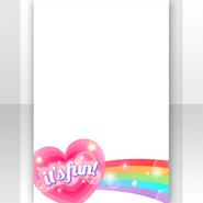 (Show Items) Sunny Cheer Rainbow Hearts Decor1 ver.1