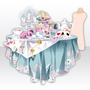 (Avatar Decor) Wonder Tea Party With You ver.A pale blue