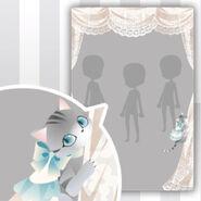 (Show Items) Tea Cat & Lace Curtain Decor1 ver.1
