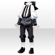 (Tops) Dearest Charming Vest Style ver.A white