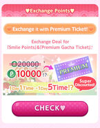 CocoPPa Play 3rd Anniversary Thanks Promo (Exchange Points)