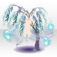(Avatar Decor) With Drifting Souls & Willow Tree ver.A blue