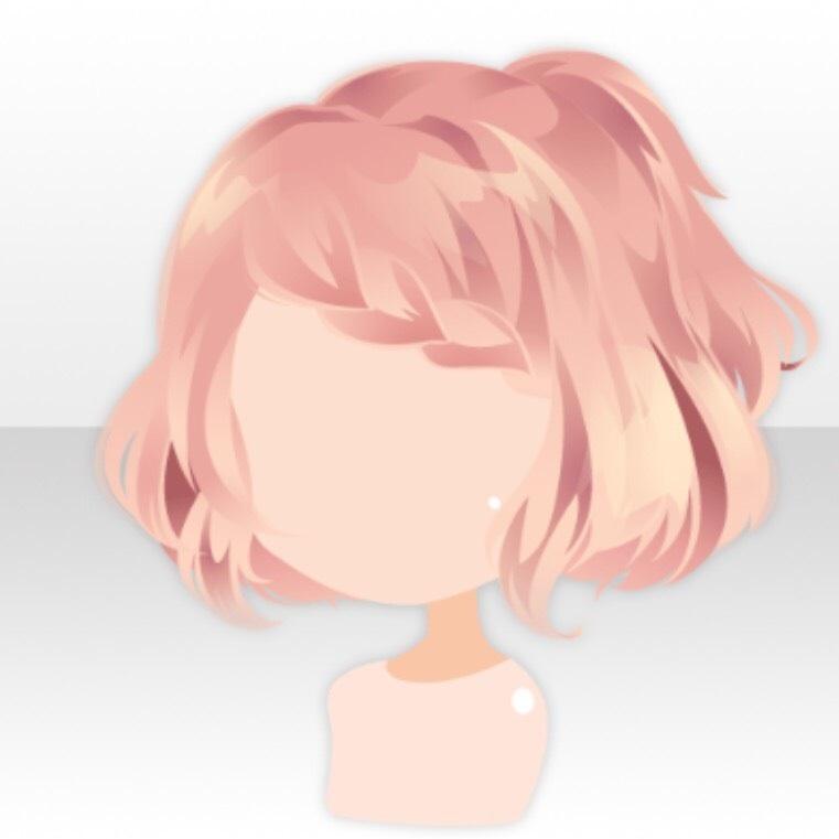 Image Hairstyle EGGS RABBIT Braided Bangs Bob Hair VerA Pink - Anime bob hairstyle