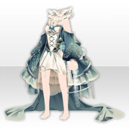 (Tops) Alice Classical Sexy Lolita Dress ver.A green