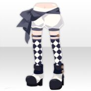 (Pant&Skirt) Circus Boots and Drawers ver.A white