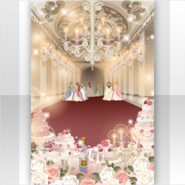 (Show Items) Classic Rococo Gorgeous Party Stage ver.1