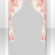 (Show Items) Tea Party Curtain Decor1 ver.1
