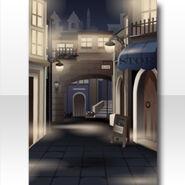 (Wallpaper Profile) Meraviglioso Town Wallpaper ver.A black