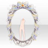 (Avatar Decoration) Angel Frame in Church ver.A white