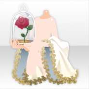 (Hand Accessories) Holding Rose in Glass Dome ver.A white