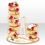 (Avatar Decor) Love Pancake Tower ver.A red