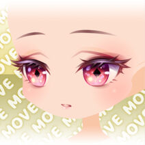 (Face) Moonlit Rose Lady Fearless Smile Face ver.A red
