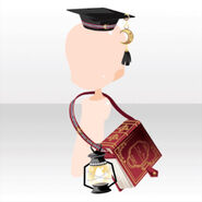 (Head Accessories) Phantom Hat and Shoulder Bag ver.A red
