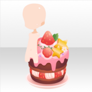 (Avatar Decor) Delicious Strawberry Sweets ver.A pink