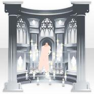 (Back Accessories) Prayer Altar ver.A white