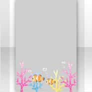 (Show Items) Aquarium Clown Fish Decor2 ver.1