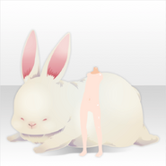 (Avatar Decor) Harvest Rabbit with Angel ver.A white