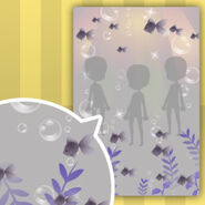 (Show Items) Goldfish in Water Decor1 Purple ver.1