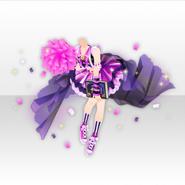 (Tops) Wizardly School Cheerleader Style ver.A purple