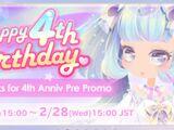 CocoPPa Play 4th Anniversary Promo