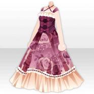 (Tops) Floral Tea Party Dress ver.A purple