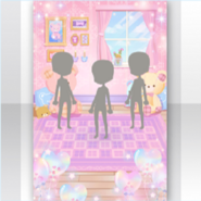 (Show Items) Happy Teddy Cute Room Stage ver.1