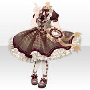 (Tops) Chocolat Queen Lolita Dress ver.A brown